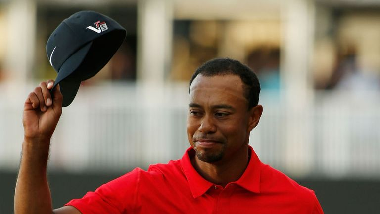 Tiger Woods: Landed his second win of the season