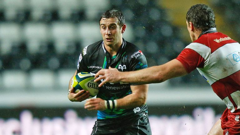 Tom Grabham: has signed a new two-year deal with Ospreys