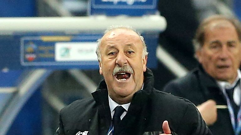 Vicente Del Bosque: Pleased with the three points