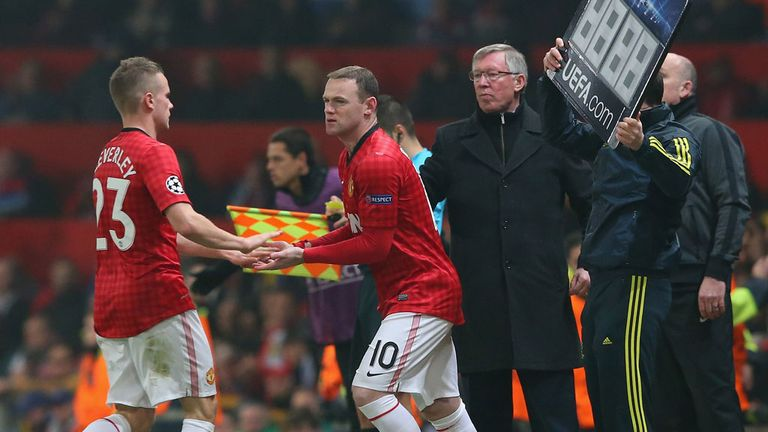 Is there a danger of this becoming a familiar sight at Old Trafford?