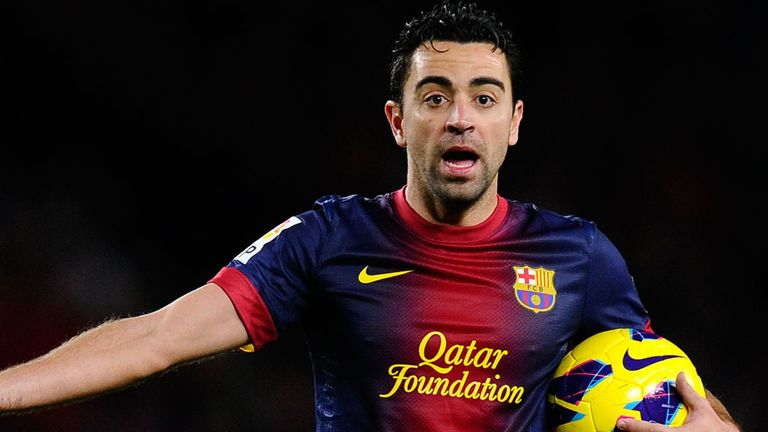 Xavi: Battling to be fit for the crucial clash against Milan at the Nou Camp