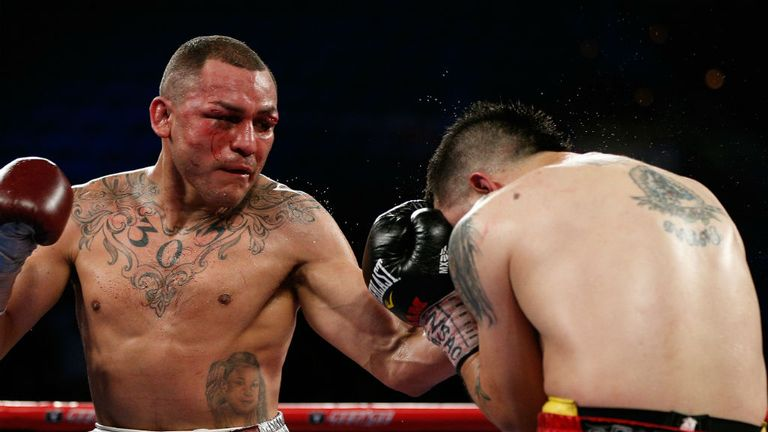 Mike Alvarado: Got the better of Rios in their re-match