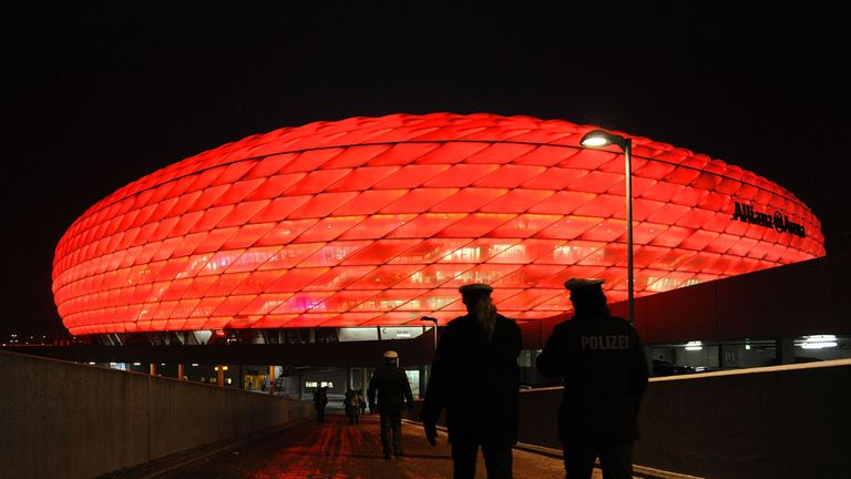 Allianz Arena: Potential Euro 2020 venue
