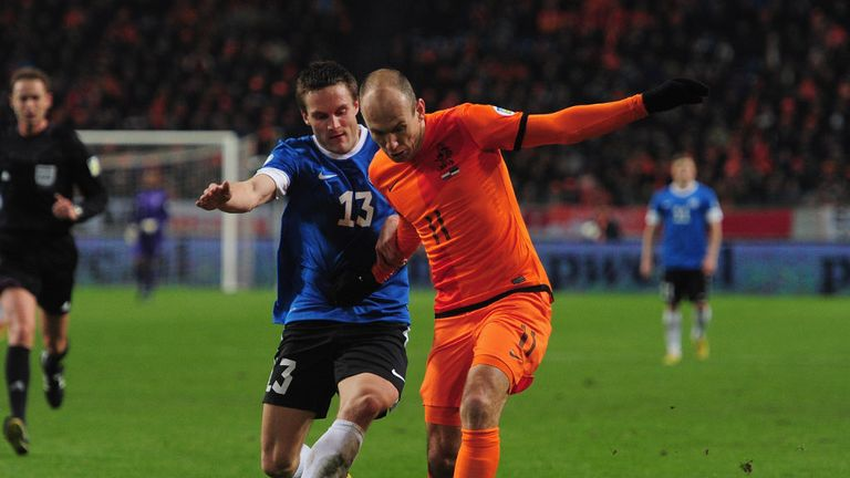 Arjen Robben: Dutch call extends Robben's season