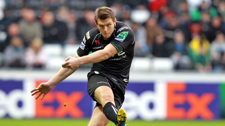 Dan Biggar: Gunning for glory with Ospreys