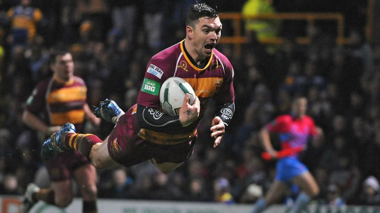 Danny Brough: Captained Scotland at the 2008 World Cup
