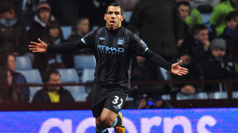 Carlos Tevez: Manchester City striker admired by Juventus