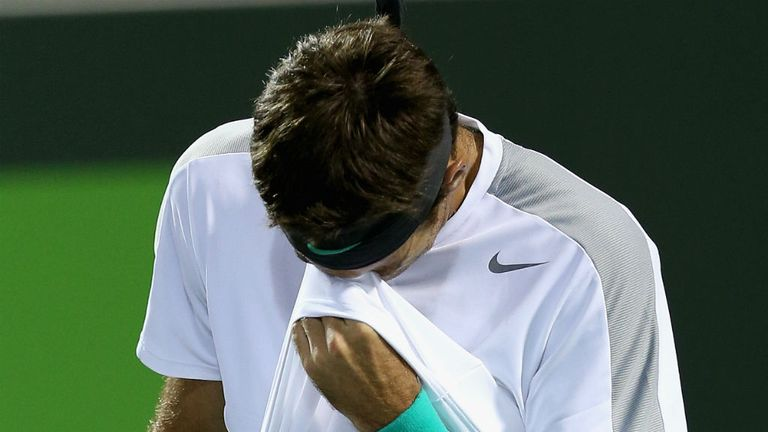 Juan Martin del Potro: Lost in straight sets to German Tobias Kamke in Miami