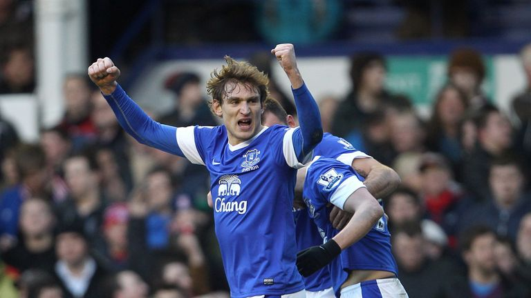 Nikica Jelavic: Scored twice in Everton's victory over Blackburn