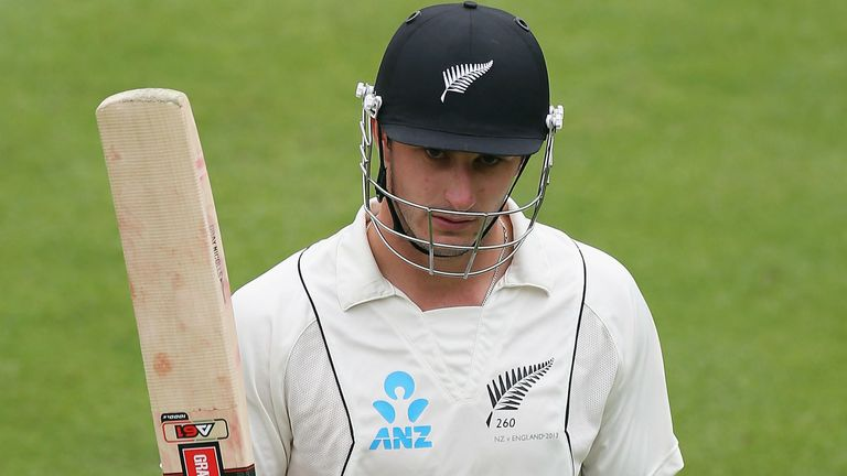 Hamish Rutherford: Century for New Zealand opener who is looking forward to Lord's