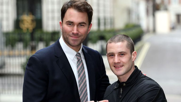 Eddie Hearn and Ricky Burns: Big plans, but Jose Gonzalez comes first