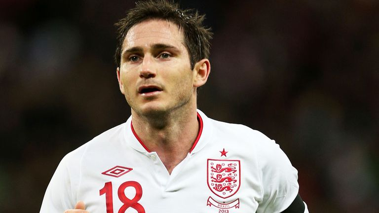 Frank Lampard: Scored 28 goals in 95 caps for England