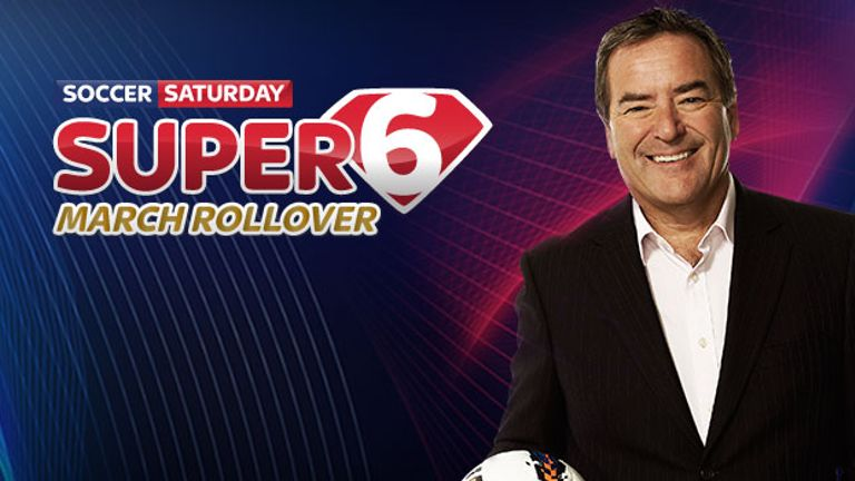 Super 6: Predict six correct scores to win the £100k jackpot