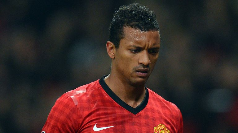 Nani: Could be targeted by Monaco towards the end of the summer transfer window