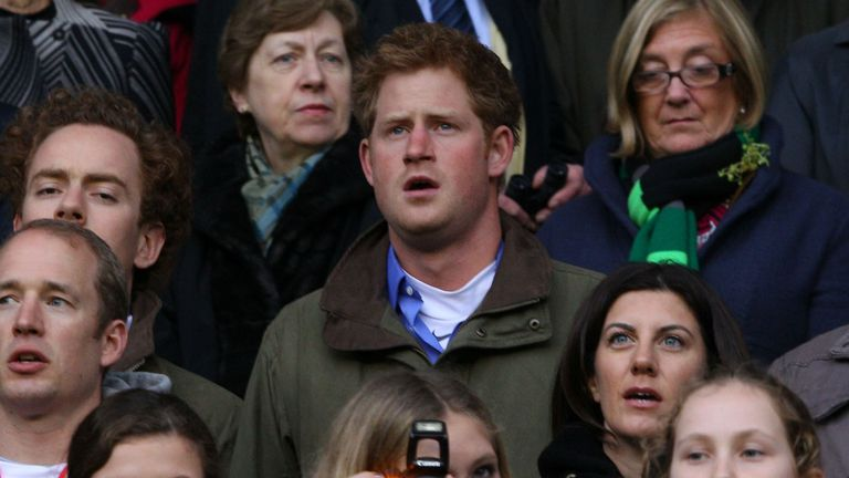 Prince Harry has strengthened his links with the RFU