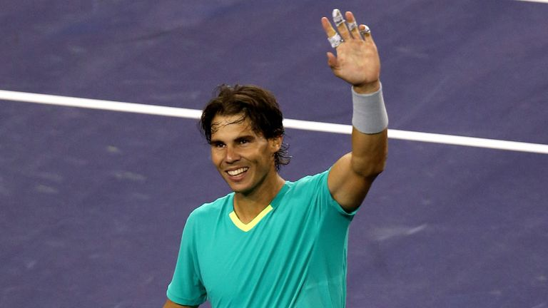 Rafa Nadal: Delighted to move into the third round in California