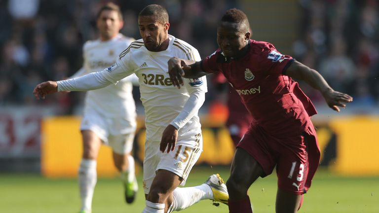 Wayne Routledge: Has embraced an unfamiliar role at Swansea