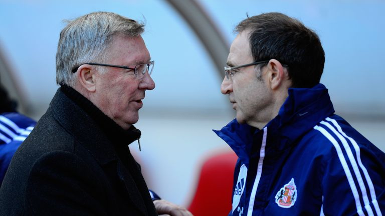 Sir Alex Ferguson and Manchester United got the better of Martin O'Neill and Sunderland