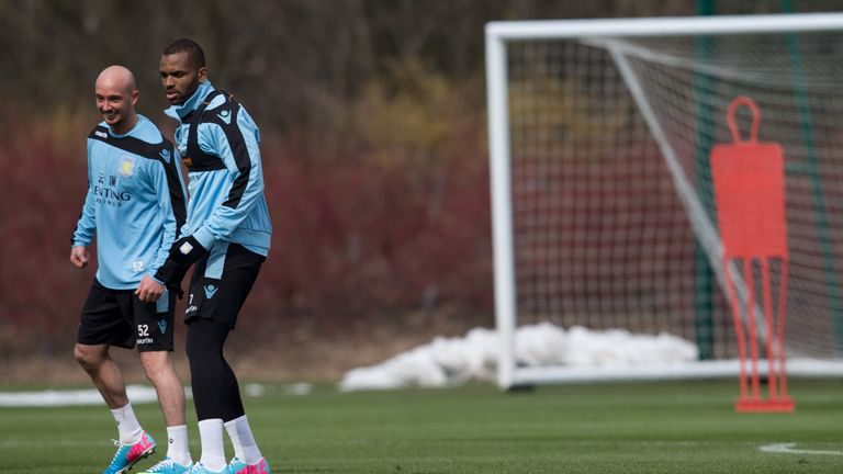 Darren Bent: The striker has overcome foot injury for Aston Villa