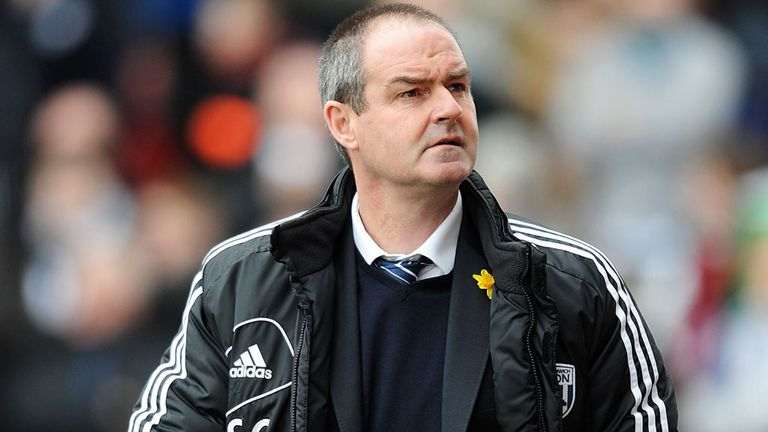 Steve Clarke: West Brom boss wants rivals Aston Villa to avoid relegation