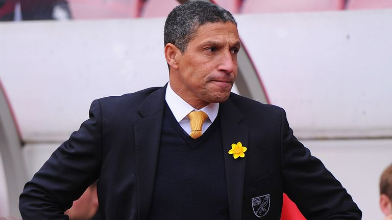 Chris Hughton: Thought his side deserved a bit more in their defeat to Wigan
