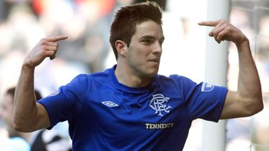 Andrew Little: Two goals in Rangers' 3-1 win over East Stirling