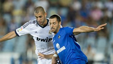Medhi Lacen: Getafe midfielder has been linked with Swansea