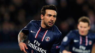 Ezequiel Lavezzi: Has been linked with a January move away from Paris St Germain