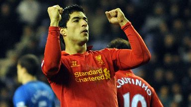 Luis Suarez: Premier League top scorer
