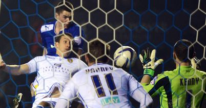Michael Keane heads late Leicester leveller
