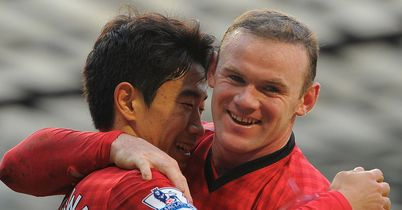Wayne Rooney and Shinji Kagawa: On the scoresheet at Old Trafford