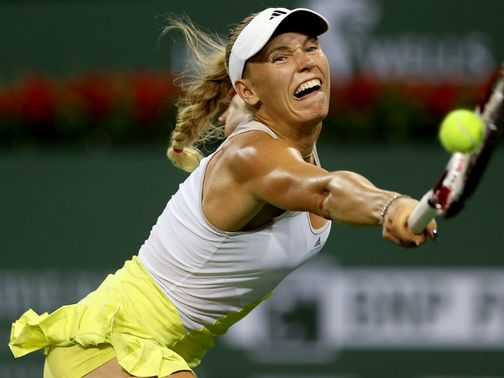 Caroline Wozniacki: continued superb record at Indian Wells event