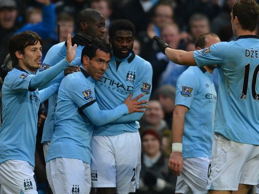 Manchester City thumped Barnsley on Saturday