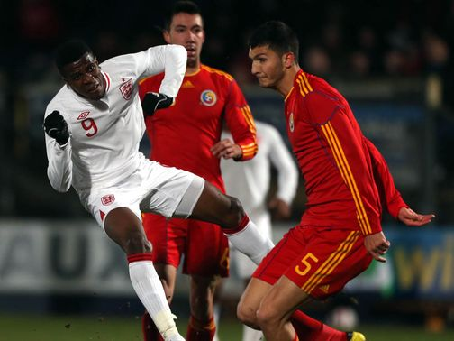 Wilfried Zaha fired England into the lead