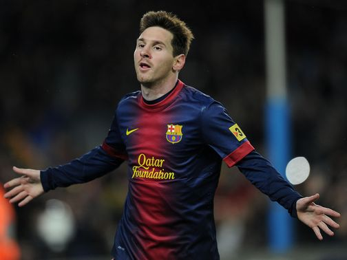 Lionel Messi: Has now scored in 18 consecutive league games
