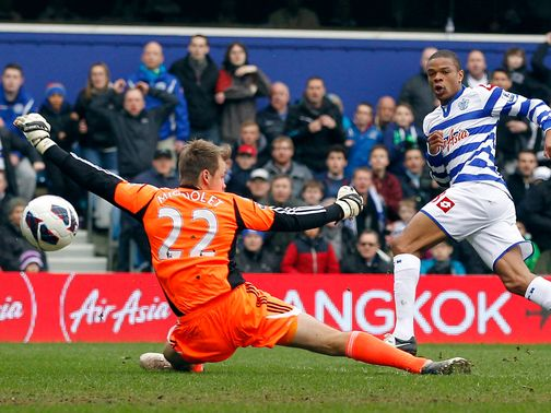 Loic Remy got QPR back on track on Saturday