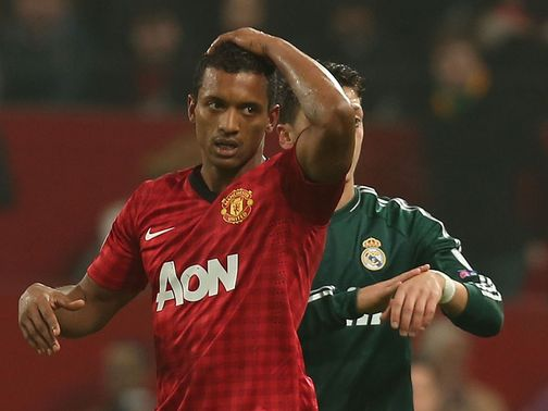 Nani's red card proved to be the turning point at Old Trafford