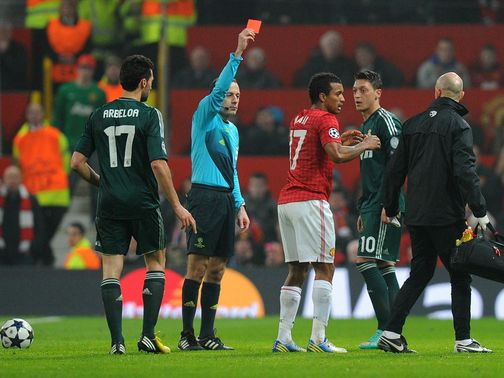 Nani: One-match ban after dismissal against Real Madrid