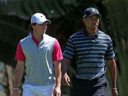 McIlroy and Woods: Differing fortunes at Doral