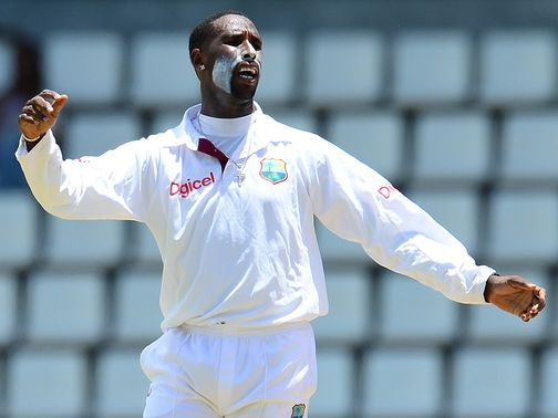 Shane Shillingford: Once again among the wickets