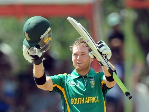 Colin Ingram: Hit a century