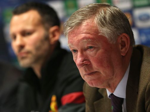 Sir Alex Ferguson: Is himself predicting goals