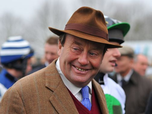 Nicky Henderson: Has a great record in Newbury feature