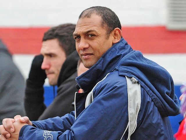 Alan Hunte: Looking for another positive display from his Salford team