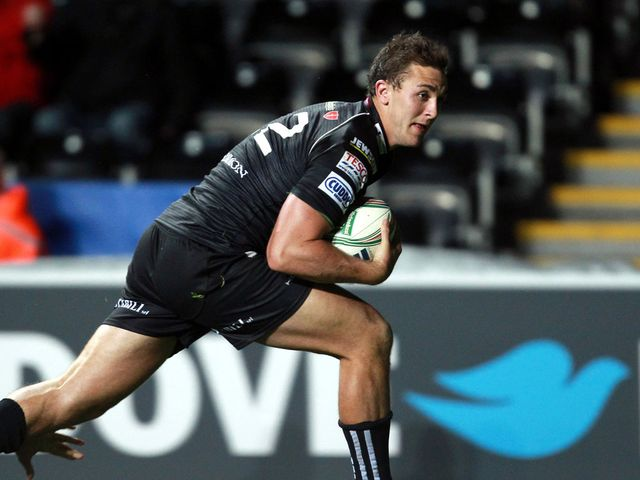 Ashley Beck: Scored for the Ospreys