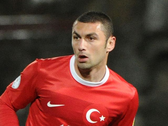 Burak Yilmaz: Scored for Turkey