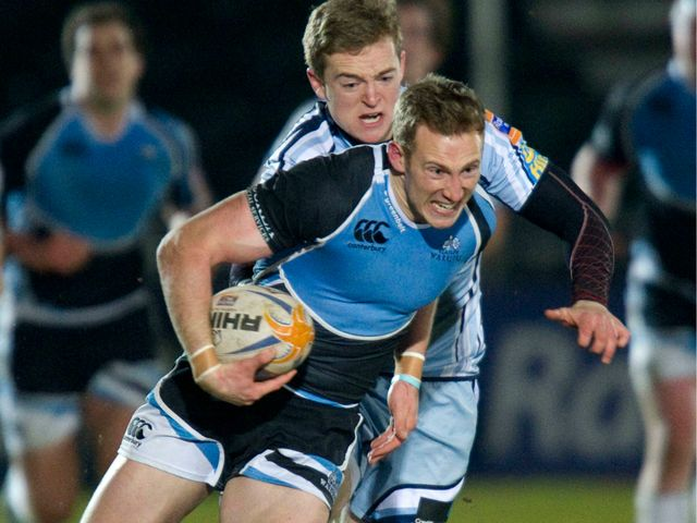 Byron McGuigan: Two tries in Glasgow victory