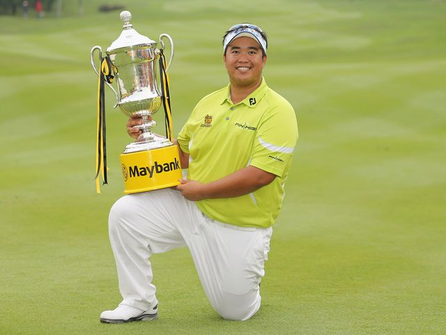 Kiradech Aphibarnrat landed his first European title