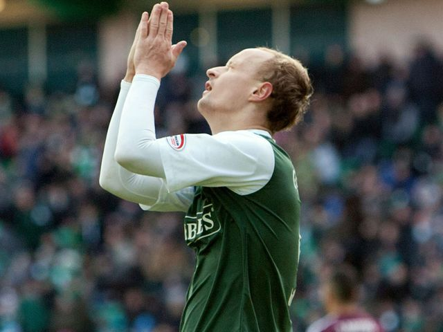 Leigh Griffiths can't believe his 'goal' doesn't stand