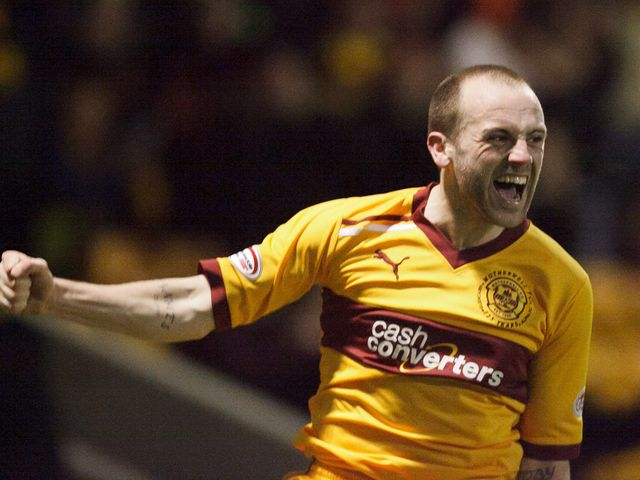 James McFadden inspired his team to victory over Hibs